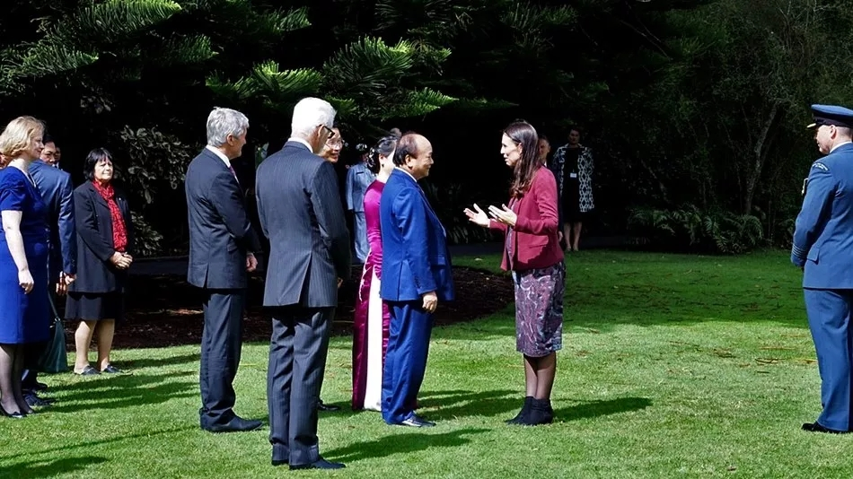 Vietnam's Prime Minister, Nguyễn Xuân Phúc and six of his ministers, met with leaders of New Zealand Trade Center during his recent visit to New Zealand.