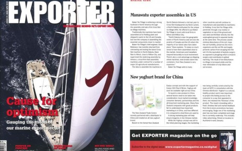 Yoghup feature in EXPORTER MAG