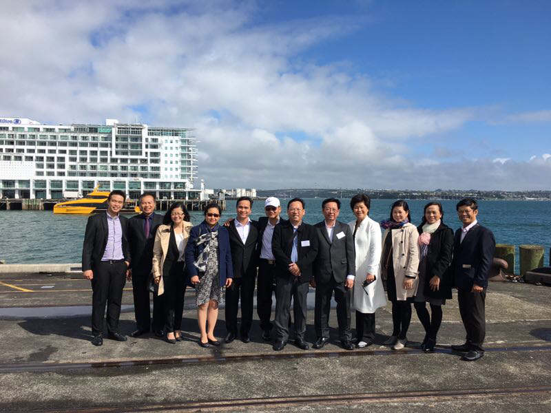越新企业早餐洽谈会在新西兰贸易中心举行